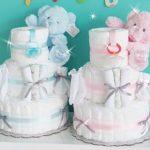 出産祝いで人気のおむつケーキ【女の子用】7選♪どれをプレゼントする?